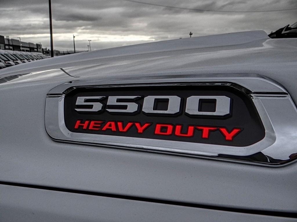 2020 Ram 5500 Regular Cab DRW 4x2, Harbor Black Boss Platform Body #RM23609 - photo 16
