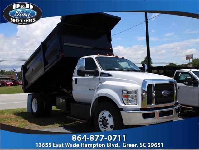 2019 Ford F-650 Regular Cab DRW 4x2, Bowman Trucks and Equipment Inc Landscape Dump #42524 - photo 1