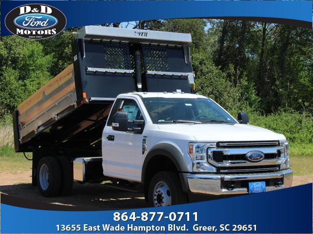 2020 Ford F-550 Regular Cab DRW 4x2, Voth Truck Bodies Dump Body #42885 - photo 1
