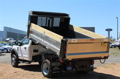 2020 Ford F-550 Regular Cab DRW 4x2, Voth Truck Bodies Dump Body #42885 - photo 16