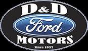 D & D Motors (Ford) logo