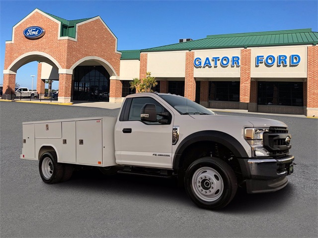2021 Ford F-550 Regular Cab DRW 4x4, Reading Service Body #FL13560 - photo 1