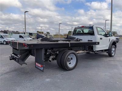 2020 Ford F-550 Regular Cab DRW 4x4, Reading Platform Body #FL13991 - photo 2