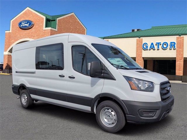 2020 Ford Transit 250 Med Roof 4x2, Adrian Steel Upfitted Cargo Van #FL75965 - photo 1