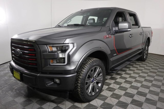 2017 F-150 SuperCrew Cab 4x4, Pickup #JCU3113 - photo 4