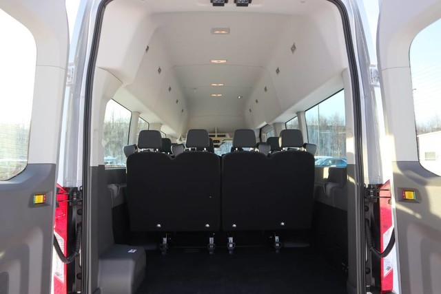 2020 Ford Transit 350 HD High Roof DRW RWD, Passenger Wagon #JF16070 - photo 2