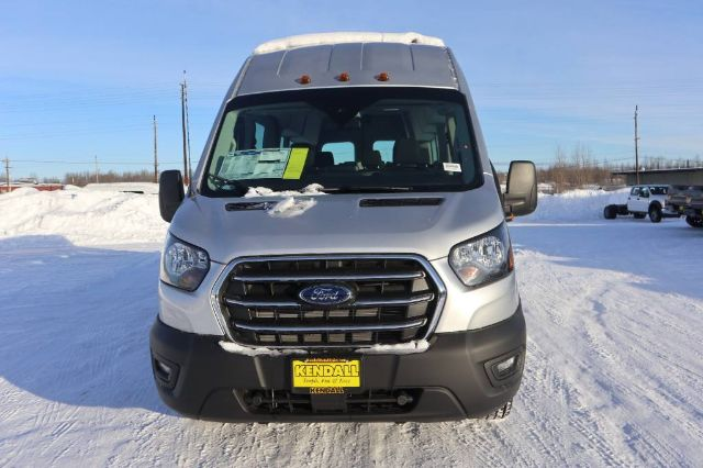 2020 Ford Transit 350 HD High Roof DRW 4x2, Passenger Wagon #JF16070 - photo 3
