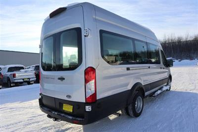 2020 Ford Transit 350 HD High Roof DRW RWD, Passenger Wagon #JF16070 - photo 11