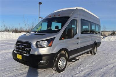 2020 Ford Transit 350 HD High Roof DRW RWD, Passenger Wagon #JF16070 - photo 4