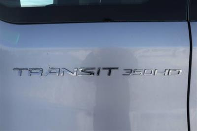 2020 Ford Transit 350 HD High Roof DRW RWD, Passenger Wagon #JF16070 - photo 10