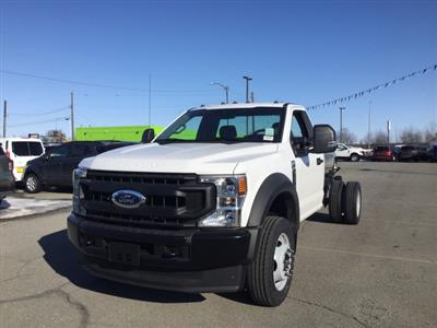 2020 Ford F-550 Regular Cab DRW 4x4, Cab Chassis #JF16121 - photo 4