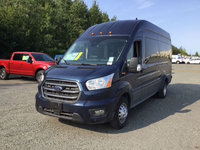 2020 Ford Transit 350 HD High Roof DRW 4x2, Passenger Wagon #JF16253 - photo 4