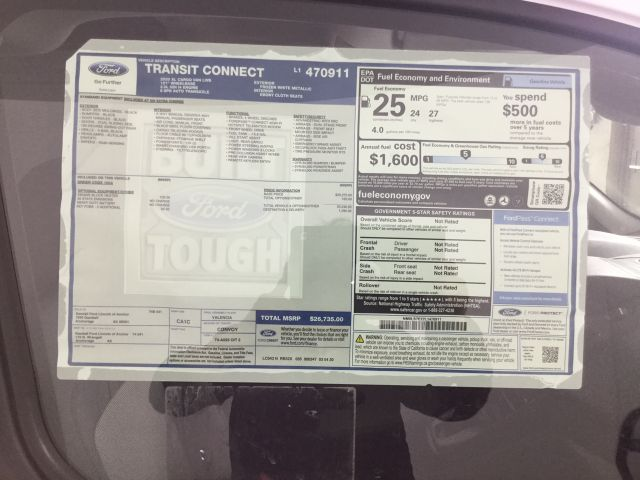 2020 Ford Transit Connect FWD, Empty Cargo Van #JF16281 - photo 20