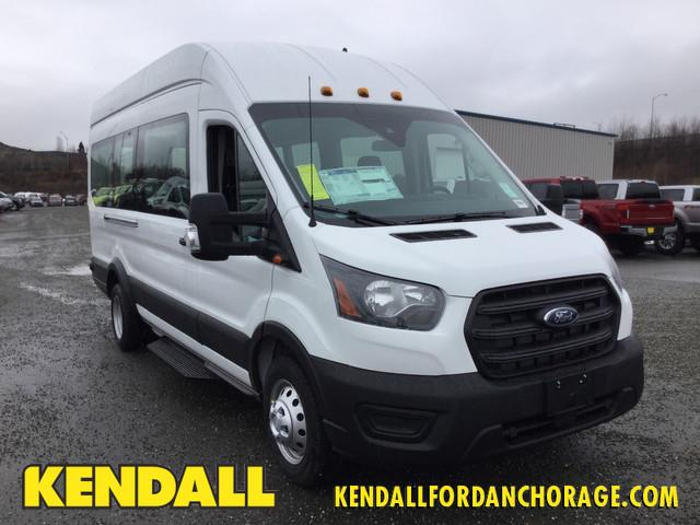 2020 Ford Transit 350 HD High Roof DRW RWD, Passenger Wagon #JF16310 - photo 1