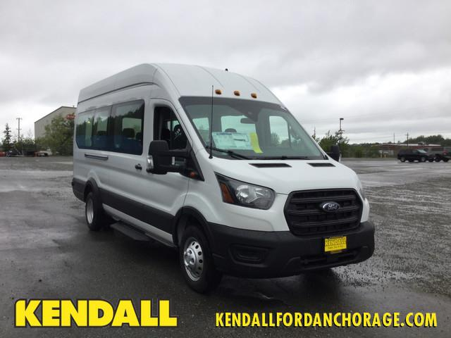 2020 Ford Transit 350 HD High Roof DRW RWD, Passenger Wagon #JF16358 - photo 1