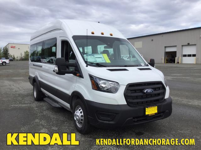 2020 Ford Transit 350 HD High Roof DRW AWD, Passenger Wagon #JF16569 - photo 1