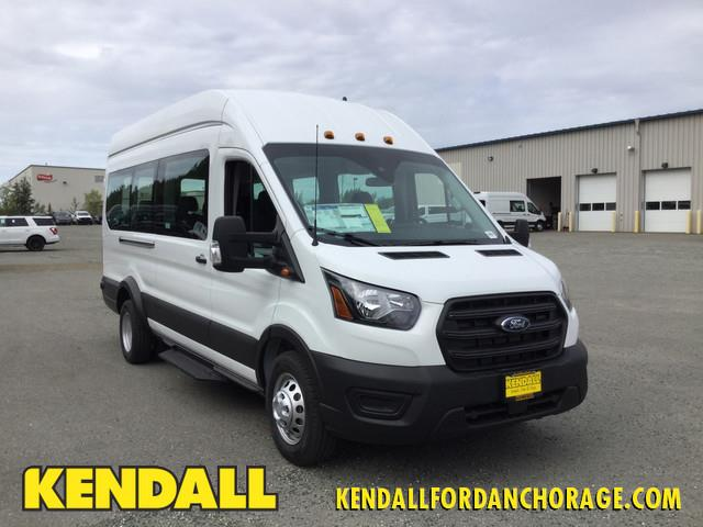2020 Ford Transit 350 HD High Roof DRW AWD, Passenger Wagon #JF16579 - photo 1