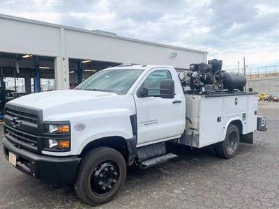 2019 Chevrolet Silverado Medium Duty Regular Cab DRW 4x2, 9 foot crane body #C191027 - photo 14