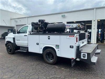 2019 Chevrolet Silverado Medium Duty Regular Cab DRW 4x2, 9 foot crane body #C191027 - photo 16