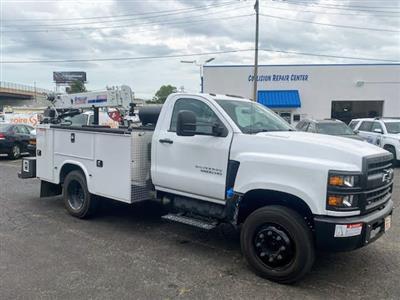 2019 Chevrolet Silverado Medium Duty Regular Cab DRW 4x2, 9 foot crane body #C191027 - photo 3