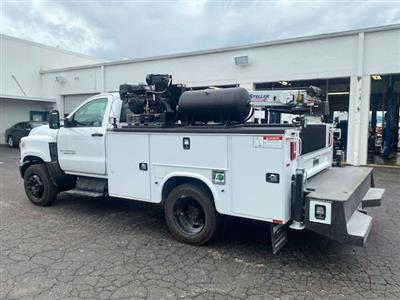 2019 Chevrolet Silverado Medium Duty Regular Cab DRW 4x2, 9 foot crane body #C191027 - photo 2