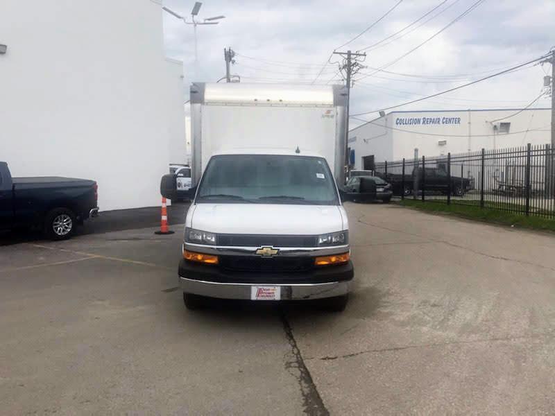 2019 Chevrolet Express 3500 DRW RWD, 14 foot hi cube  #191049 - photo 1