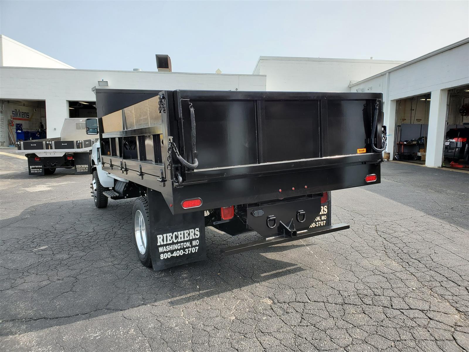 """2020 Chevrolet Silverado Medium Duty Regular Cab DRW 4x4, 11' 3"""" Contractor Dump #200548 - photo 1"""