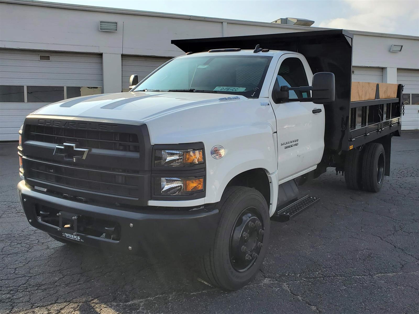 2020 Chevrolet Silverado 5500 Regular Cab DRW 4x2, Contractor Dump  #C200704 - photo 1