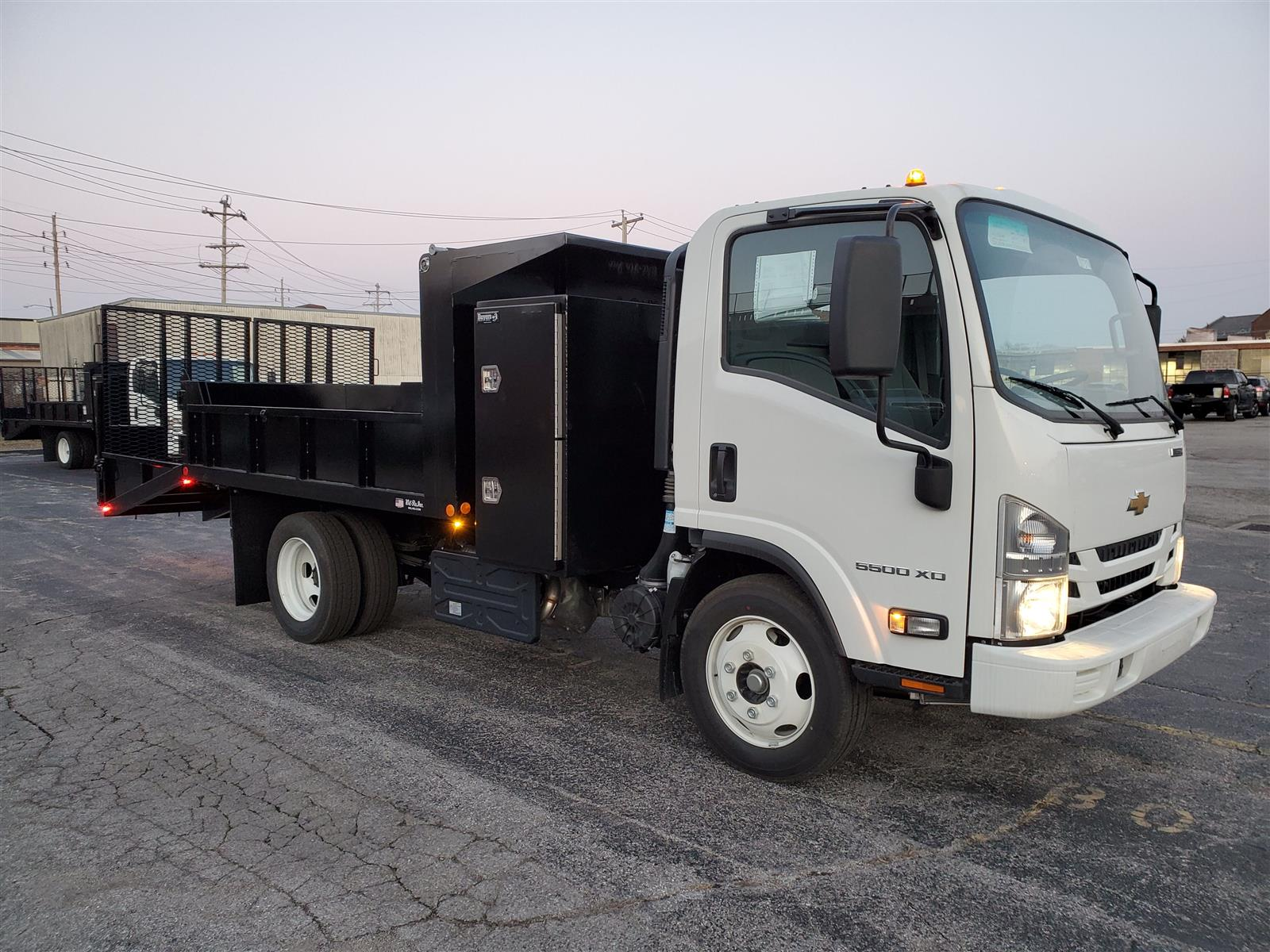 2020 Chevrolet LCF 5500XD Regular Cab DRW 4x2, Wil-Ro Removable Dovetail Landscape #C200731 - photo 6