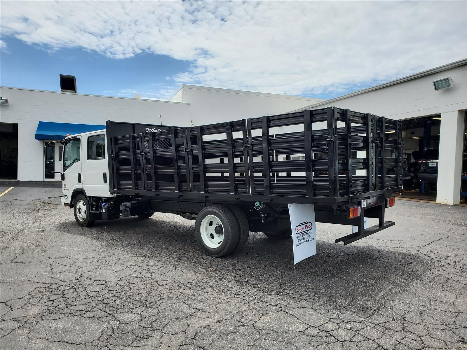 2021 Chevrolet LCF 4500XD Crew Cab DRW 4x2, 16 foot stakebed #C210005 - photo 1