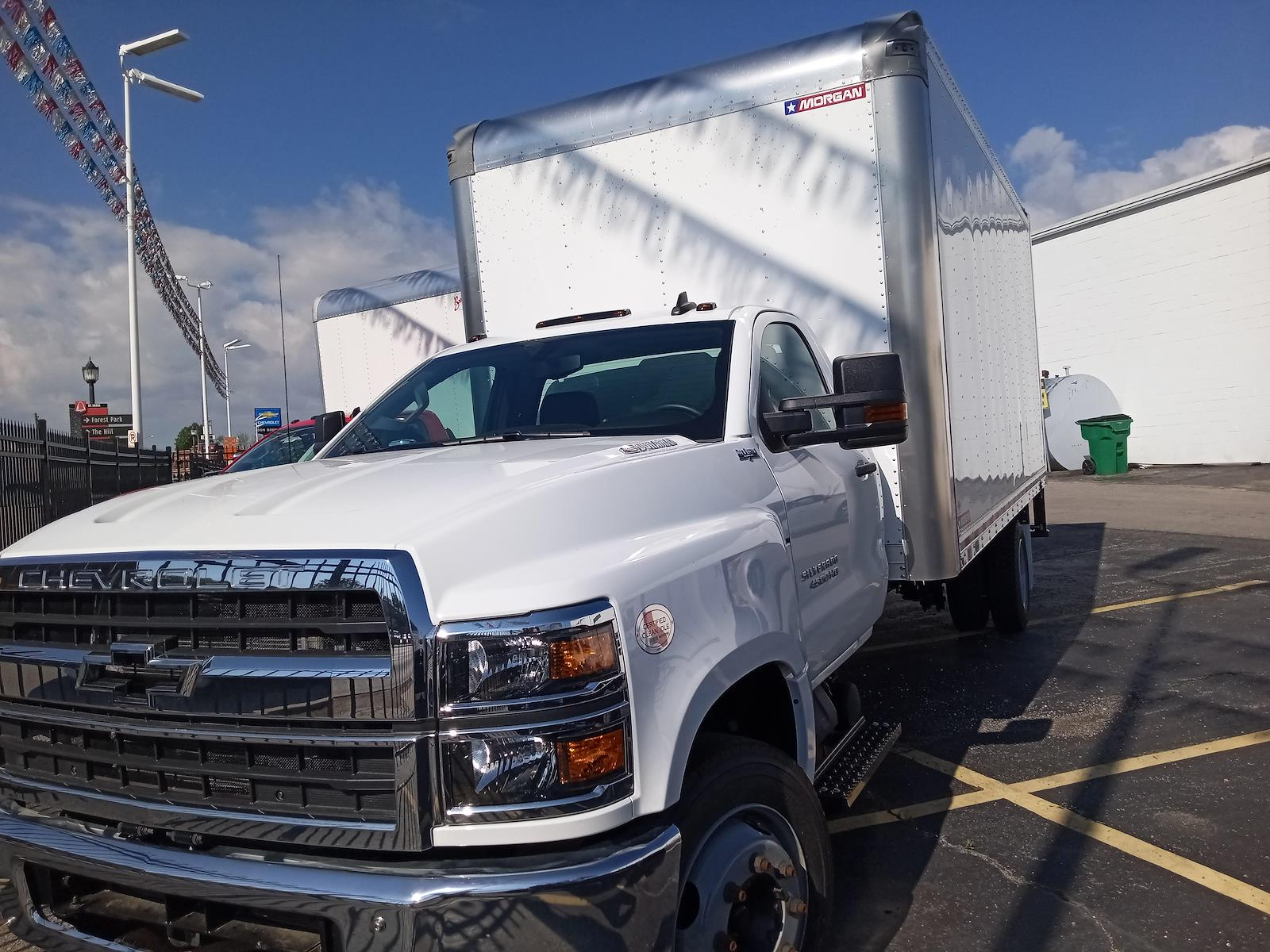 2020 Chevrolet Silverado 4500 Regular Cab DRW 4x2, Morgan Dry Freight #C200547 - photo 1