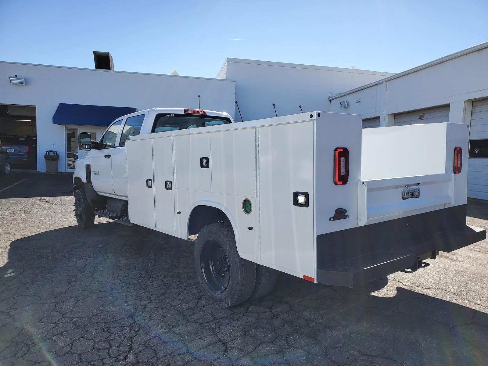 2020 Chevrolet Silverado Medium Duty Crew Cab DRW 4x4, 11 foot Service Body #C200765 - photo 1