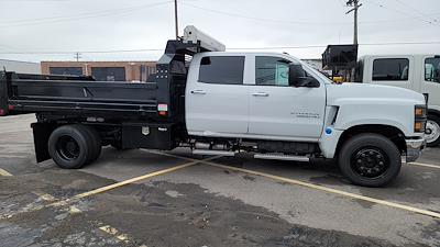 2020 Silverado 6500 Crew Cab DRW 4x2, 11 foot Contractor Dump #C200772 - photo 1