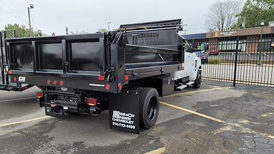 2020 Silverado 6500 Crew Cab DRW 4x2, 11 foot Contractor Dump #C200772 - photo 2