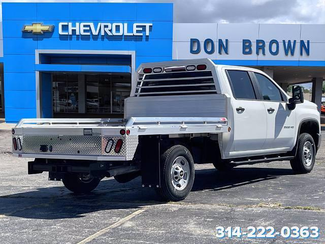 2021 Silverado 2500 Crew Cab 4x4,  Monroe Truck Equipment Tow 'N Haul Gooseneck Platform Body #C210348 - photo 7
