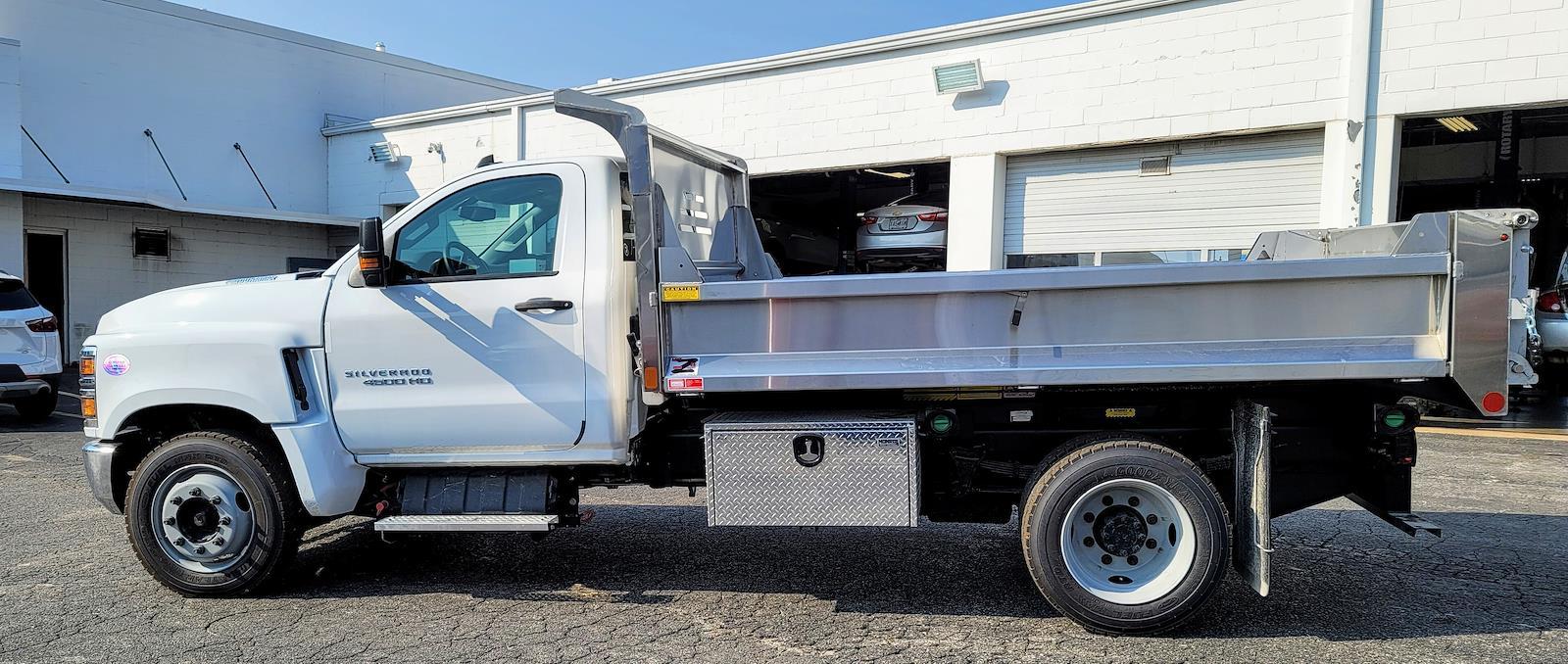 2021 Silverado 4500 Regular Cab DRW 4x2,  Monroe Truck Equipment MTE-Zee SST Series Dump Body #C210426 - photo 6