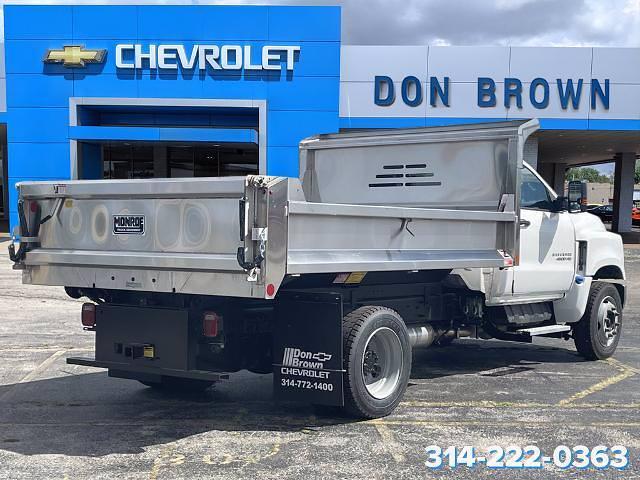 2021 Silverado 4500 Regular Cab DRW 4x2,  Monroe Truck Equipment MTE-Zee SST Series Dump Body #C210426 - photo 8