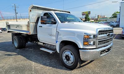 2021 Silverado 4500 Regular Cab DRW 4x2,  Monroe Truck Equipment MTE-Zee SST Series Dump Body #C210426 - photo 1