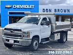 2021 Silverado 4500 Regular Cab DRW 4x2,  Monroe Truck Equipment MTE-Zee SST Series Dump Body #C210426 - photo 11