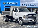 2021 Silverado 4500 Regular Cab DRW 4x2,  Monroe Truck Equipment MTE-Zee SST Series Dump Body #C210426 - photo 7