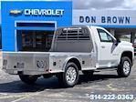 2021 Silverado 2500 Regular Cab 4x4,  CM Truck Beds AL SK Model Platform Body #C210432 - photo 2