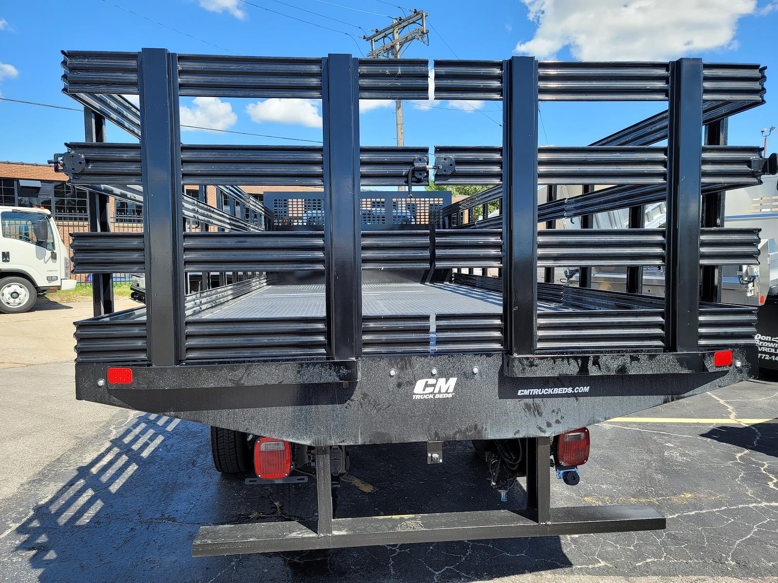 2021 Silverado 6500 Regular Cab DRW 4x2,  CM Truck Beds Stake Bed #C210450 - photo 7