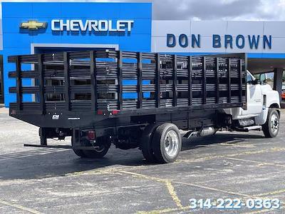 2021 Silverado 6500 Regular Cab DRW 4x2,  CM Truck Beds PL Model Platform Body #C210450 - photo 2