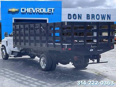 2021 Silverado 6500 Regular Cab DRW 4x2,  CM Truck Beds Stake Bed #C210450 - photo 9