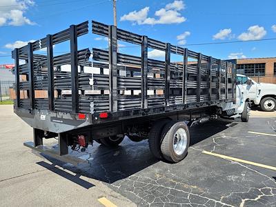 2021 Silverado 6500 Regular Cab DRW 4x2,  CM Truck Beds Stake Bed #C210450 - photo 6