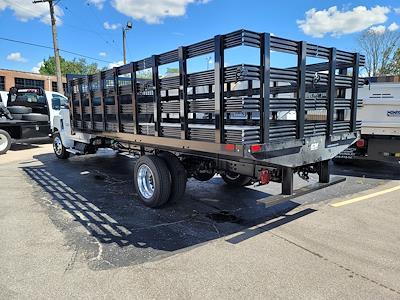 2021 Silverado 6500 Regular Cab DRW 4x2,  CM Truck Beds Stake Bed #C210450 - photo 4
