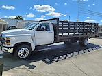 2021 Silverado 6500 Regular Cab DRW 4x2,  CM Truck Beds PL Model Platform Body #C210450 - photo 3