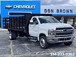 2021 Silverado 6500 Regular Cab DRW 4x2,  CM Truck Beds PL Model Platform Body #C210450 - photo 1