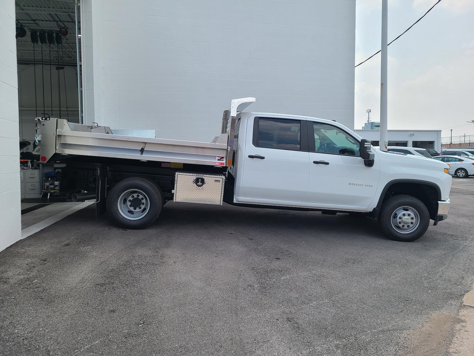 2021 Silverado 3500 Crew Cab 4x4,  Monroe Truck Equipment MTE-Zee SST Series Dump Body #C210451 - photo 3
