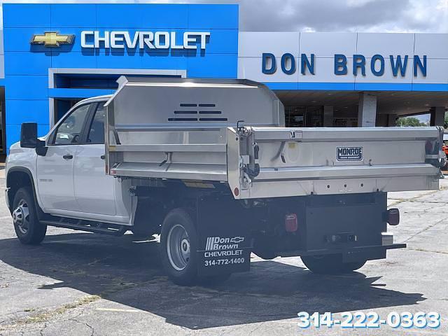 2021 Silverado 3500 Crew Cab 4x4,  Monroe Truck Equipment MTE-Zee SST Series Dump Body #C210451 - photo 7